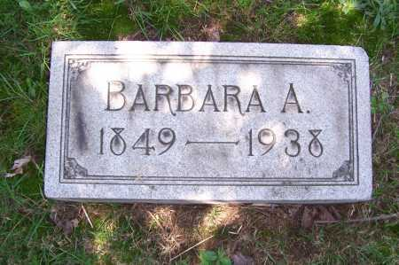 RUFF, BARBARA - Columbiana County, Ohio | BARBARA RUFF - Ohio Gravestone Photos