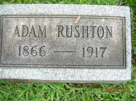 RUSHTON, ADAM - Columbiana County, Ohio | ADAM RUSHTON - Ohio Gravestone Photos