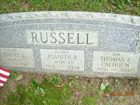 RUSSELL, ALBERT L - Columbiana County, Ohio | ALBERT L RUSSELL - Ohio Gravestone Photos