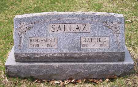 SALLAZ, HATTIE O. - Columbiana County, Ohio | HATTIE O. SALLAZ - Ohio Gravestone Photos