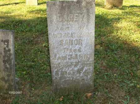 SANOR, CAREY - Columbiana County, Ohio   CAREY SANOR - Ohio Gravestone Photos