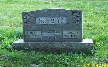 SCHMITT, LEORA B. - Columbiana County, Ohio | LEORA B. SCHMITT - Ohio Gravestone Photos
