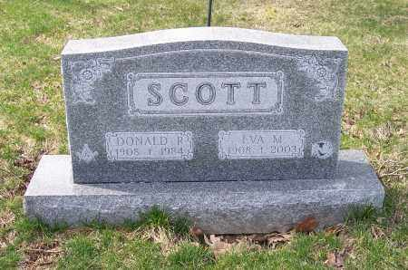 SCOTT, DONALD R. - Columbiana County, Ohio | DONALD R. SCOTT - Ohio Gravestone Photos
