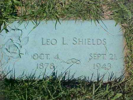 SHIELDS, LEO L - Columbiana County, Ohio | LEO L SHIELDS - Ohio Gravestone Photos