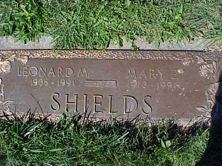GRAFTON SHIELDS, MARY E - Columbiana County, Ohio | MARY E GRAFTON SHIELDS - Ohio Gravestone Photos