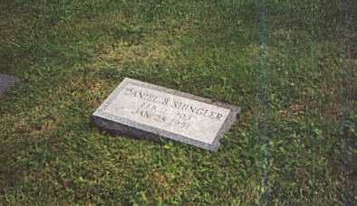 SHINGLER, DANIEL - Columbiana County, Ohio | DANIEL SHINGLER - Ohio Gravestone Photos