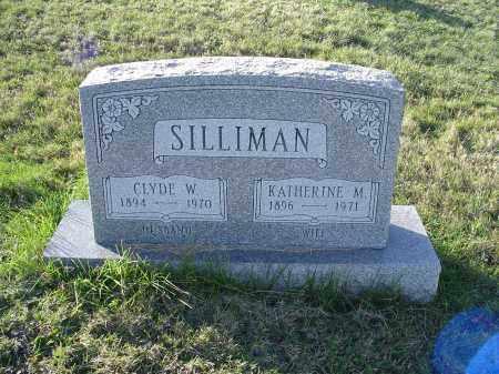 SILLIMAN, KATHERINE MARGARET - Columbiana County, Ohio | KATHERINE MARGARET SILLIMAN - Ohio Gravestone Photos