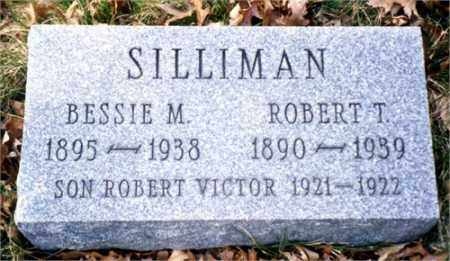 SILLIMAN, ROBERT VICTOR - Columbiana County, Ohio | ROBERT VICTOR SILLIMAN - Ohio Gravestone Photos