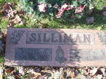 SILLIMAN, WALTER SANFORD - Columbiana County, Ohio | WALTER SANFORD SILLIMAN - Ohio Gravestone Photos