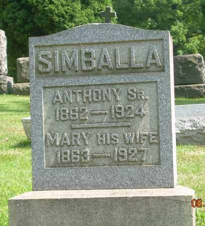 SIMBALLA, MARY - Columbiana County, Ohio | MARY SIMBALLA - Ohio Gravestone Photos