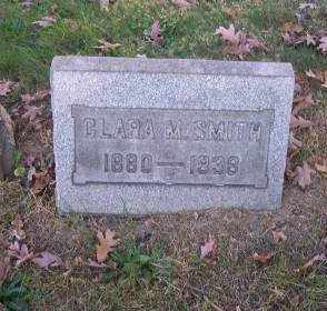 SMITH, CLARA M. - Columbiana County, Ohio | CLARA M. SMITH - Ohio Gravestone Photos