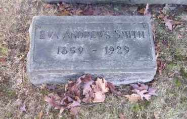 SMITH, EVA ANDREWS - Columbiana County, Ohio | EVA ANDREWS SMITH - Ohio Gravestone Photos