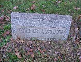 SMITH, WALTER A. - Columbiana County, Ohio | WALTER A. SMITH - Ohio Gravestone Photos