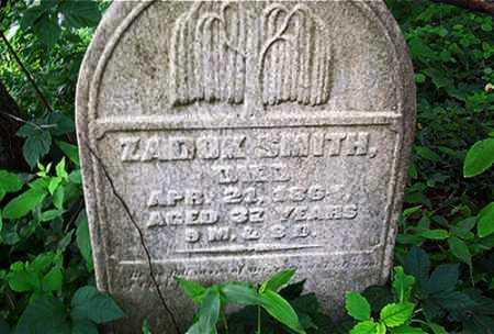 SMITH, ZADOK - Columbiana County, Ohio | ZADOK SMITH - Ohio Gravestone Photos