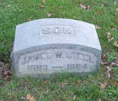STEEL, JAMES W. - Columbiana County, Ohio | JAMES W. STEEL - Ohio Gravestone Photos