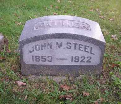 STEEL, JOHN M. - Columbiana County, Ohio | JOHN M. STEEL - Ohio Gravestone Photos