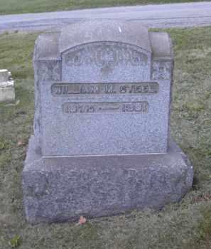 STEEL, WILLIAM M. - Columbiana County, Ohio | WILLIAM M. STEEL - Ohio Gravestone Photos