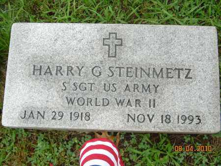 STEINMETZ, HARRY G - Columbiana County, Ohio | HARRY G STEINMETZ - Ohio Gravestone Photos