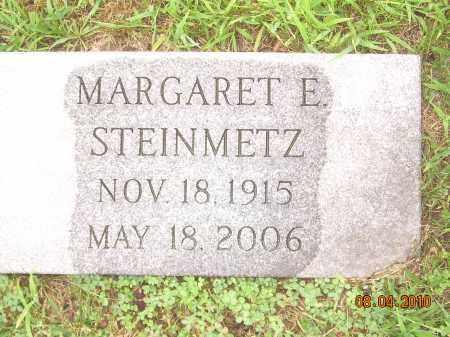 STEINMETZ, MARGARET E - Columbiana County, Ohio | MARGARET E STEINMETZ - Ohio Gravestone Photos
