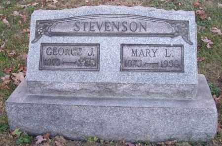 STEVENSON, MARY L. - Columbiana County, Ohio | MARY L. STEVENSON - Ohio Gravestone Photos