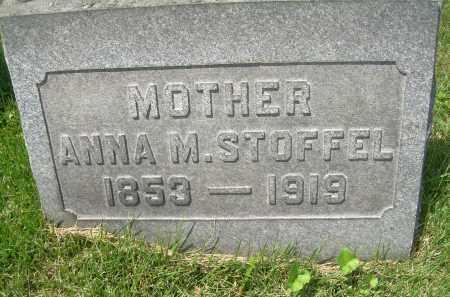 STOFFEL, ANNA MARIE - Columbiana County, Ohio | ANNA MARIE STOFFEL - Ohio Gravestone Photos