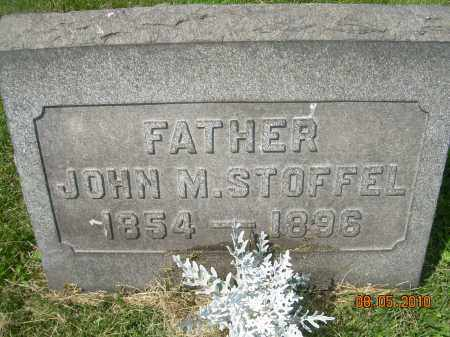 STOFFEL, JOHN M - Columbiana County, Ohio | JOHN M STOFFEL - Ohio Gravestone Photos