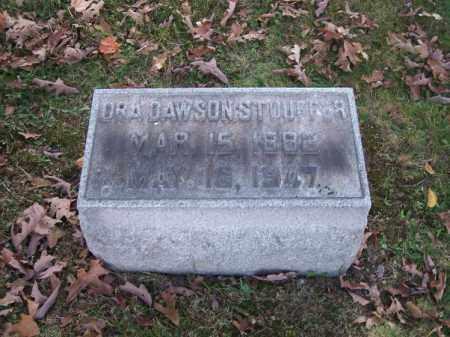 STOFFER, ORA DAWSON - Columbiana County, Ohio | ORA DAWSON STOFFER - Ohio Gravestone Photos