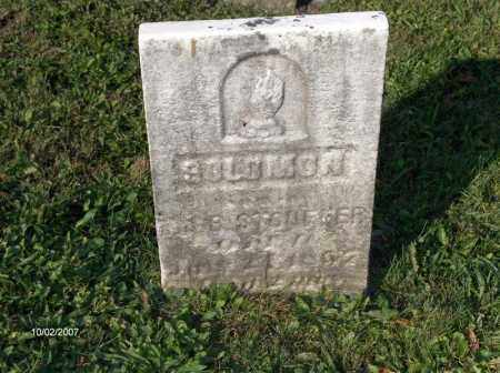 STOUFFER, SOLOMON - Columbiana County, Ohio | SOLOMON STOUFFER - Ohio Gravestone Photos
