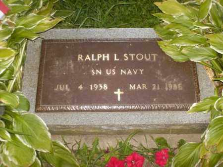 STOUT, RALPH L. - Columbiana County, Ohio | RALPH L. STOUT - Ohio Gravestone Photos