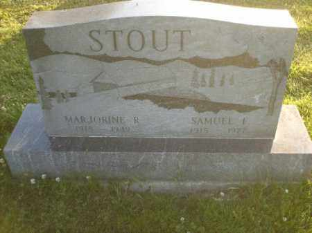 STOUT, MARJORINE - Columbiana County, Ohio | MARJORINE STOUT - Ohio Gravestone Photos