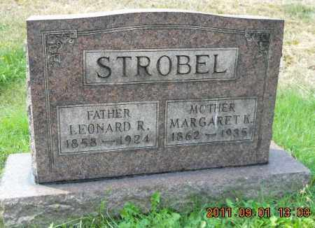 STROBEL, LEONARD R - Columbiana County, Ohio | LEONARD R STROBEL - Ohio Gravestone Photos