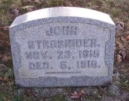 STROSNIDER, JOHN - Columbiana County, Ohio | JOHN STROSNIDER - Ohio Gravestone Photos