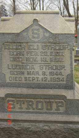 WEAVER STROUP, LUCINDA - Columbiana County, Ohio | LUCINDA WEAVER STROUP - Ohio Gravestone Photos