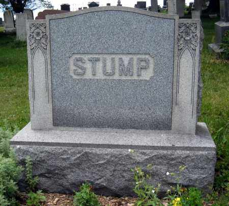 STUMP, BENJAMIN & ELIZABETH MONUMENT - Columbiana County, Ohio   BENJAMIN & ELIZABETH MONUMENT STUMP - Ohio Gravestone Photos