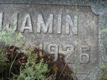 STUMP, BENJAMIN RIGHT SIDE OF DATE - Columbiana County, Ohio | BENJAMIN RIGHT SIDE OF DATE STUMP - Ohio Gravestone Photos