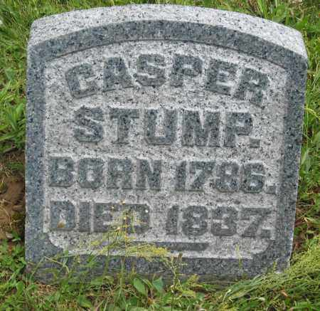 STUMP, CASPER - Columbiana County, Ohio | CASPER STUMP - Ohio Gravestone Photos