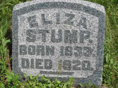 STUMP, ELIZA - Columbiana County, Ohio | ELIZA STUMP - Ohio Gravestone Photos