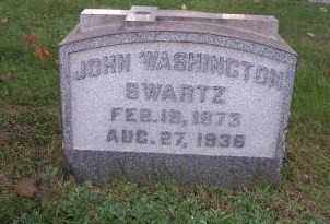 SWARTZ, JOHN WASHINGTON - Columbiana County, Ohio | JOHN WASHINGTON SWARTZ - Ohio Gravestone Photos