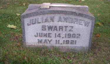 SWARTZ, JULIAN ANDREW - Columbiana County, Ohio | JULIAN ANDREW SWARTZ - Ohio Gravestone Photos