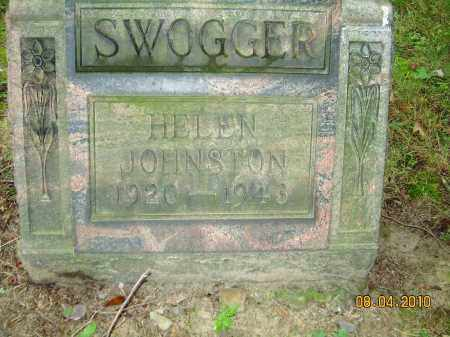 JOHNSTON SWOGGER, HELEN - Columbiana County, Ohio | HELEN JOHNSTON SWOGGER - Ohio Gravestone Photos