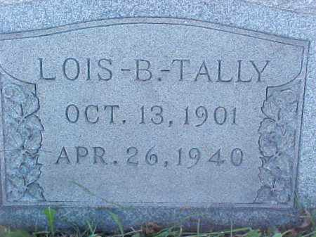 TALLY, LOIS - Columbiana County, Ohio | LOIS TALLY - Ohio Gravestone Photos