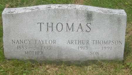 TAYLOR THOMAS, NANCY - Columbiana County, Ohio | NANCY TAYLOR THOMAS - Ohio Gravestone Photos