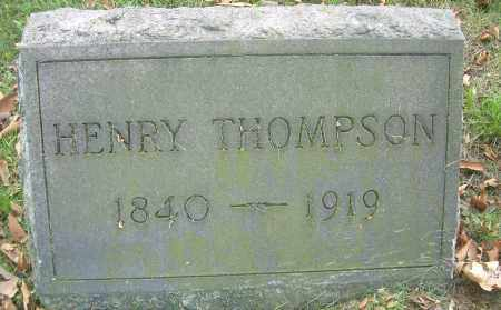 THOMPSON, HENRY - Columbiana County, Ohio | HENRY THOMPSON - Ohio Gravestone Photos