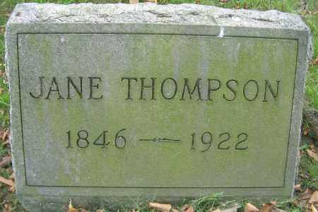 THOMPSON, JANE - Columbiana County, Ohio | JANE THOMPSON - Ohio Gravestone Photos