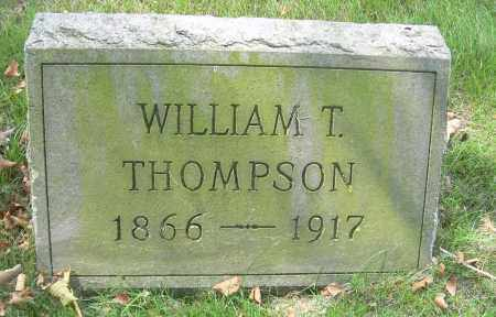 THOMPSON, WILLIAM T - Columbiana County, Ohio | WILLIAM T THOMPSON - Ohio Gravestone Photos