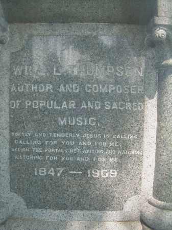 THOMPSON, WILLIAM L - Columbiana County, Ohio | WILLIAM L THOMPSON - Ohio Gravestone Photos