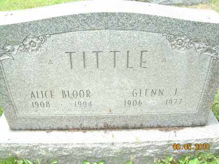 TITTLE, GLENN J - Columbiana County, Ohio | GLENN J TITTLE - Ohio Gravestone Photos