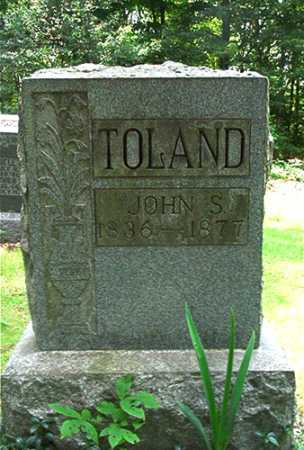 TOLAND, JOHN S. - Columbiana County, Ohio | JOHN S. TOLAND - Ohio Gravestone Photos