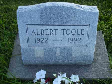 TOOLE, ALBERT - Columbiana County, Ohio | ALBERT TOOLE - Ohio Gravestone Photos