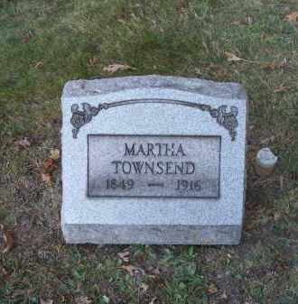 TOWNSEND, MARTHA - Columbiana County, Ohio | MARTHA TOWNSEND - Ohio Gravestone Photos